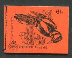 SALE  Great Britain 1968  Booklet  Mushroom - Paddestoelen
