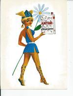 ANTAR  Molygraphite  Tres Belkle Carte De Pub RARE - Advertising