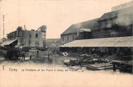 Ciney - La Fonderie Et Les Fours à Chaux De Crahiat - Edit. Hoffmann N° 3439 - Ciney