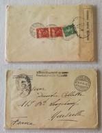 Lettera Da Sanatorium Stephani Station Climatérique De Montana Per Marsiglia - 30/05/1917 - Svizzera