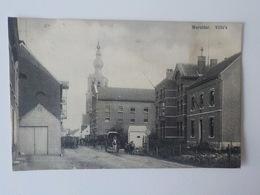 1900 CP Animée Werchter Villa's Attelages Charrettes Enfants - Rotselaar