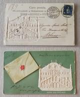 Cartolina Postale Da Berna Per Milano - 12/X/1901 - 1882-1906 Stemmi, Helvetia Verticalmente & UPU