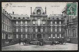 CPA 14 - Caen, L'Hôtel De Ville - Cour Intérieure - Caen