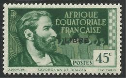 AFRIQUE EQUATORIALE FRANCAISE - AEF - A.E.F. - 1941 - YT 106** - Neufs