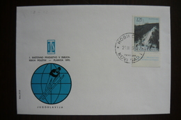 Yugoslavia, Slovenia, Ratece-Planica 1972, Ski Flies, I. Svetovno Prvenstvo V Smucarskih Poletih, Spec Postmark & Cover - Autres