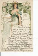 BELLE JARDINIERE  LA ROSE 1903 - Publicité