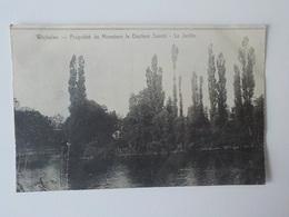 1900 CP Wichelen Propriété De Monsieur Le Docteur Savoir Le Jardin N° 15587 - Wichelen