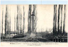 22 BROONS - La Colonne De Duguesclin élevée Sur L'emplacement Du Chateau Où Naquit Le Connétable - Francia