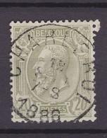 N° 47  CHARLEROI - 1884-1891 Léopold II