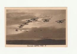 CARTOLINA POSTALE PRIMO DECENNALE FONDAZIONE AERONATICA GIORNATA ALA 1932 - Aviazione