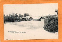 Guadalajara Spain 1900 Postcard - Guadalajara