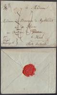 """BELGIQUE LETTRE DE HERVE """" 96 HERVE"""" VERS POSTE RESTANTE   (DD) DC-7155 - 1794-1814 (Période Française)"""