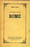 Rome De Emile Zola (1954) - Voyages