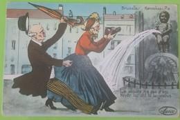 ILLUSTRATEUR MANNEKEN PIS EDITION MARCO ANNEE 1939 LA JALOUSIE N A PAS D AGE - Humour