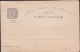Entier Postal / Bilhete Postal - Afrique Portugaise - Lisboa - Centenario Da India - Afrique Portugaise