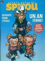 Spirou N°4037 Bis : En Route Pour L'école De Collectif (2015) - Zonder Classificatie