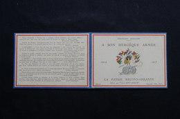 CALENDRIERS - Petit Calendrier De 1917 Patriotique - L 54553 - Calendarios