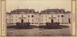 Photo Stéréo Ferney Chateau De Voltaire Par Braun à Dornach - Stereoscopic