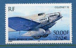 France - Poste Aérienne - YT PA N° 64 - Neuf Sans Charnière - 2000 - 1960-.... Ungebraucht