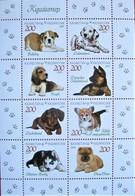 Kazakhstan  2019   Fauna  Puppies   S/S    MNH - Kasachstan