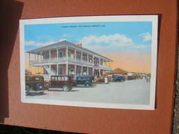 Cpa 9x14 V DD Usa Carbo House Savannah Beach Voitures Anciennes Bon Etat - Savannah