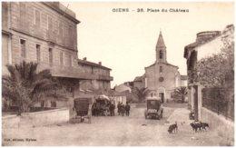 83 GIENS - Place Du Chateau - Frankrijk