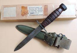Baïonnette USM4 PAL, état Neuf, US WW2. - Armes Blanches