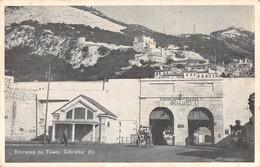 """6662"""" ENTRANCE TO TOWN-GIBRALTAR """"ANIMATA- CART. POST ORIG. SPEDITA - Gibilterra"""