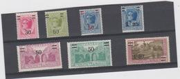 MONACO Série Complète 7 T Neufs Xx N°YT 104 à 110 - 1926 - Unused Stamps