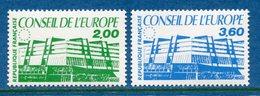 France - Timbre De Service - YT N° 96 Et 97 - Conseil De L'Europe - Neuf Sans Charnière - 1987 - Nuovi