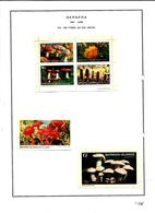 SCOTLAND - BERNERA - 1981 - Fungi - Perf  4v Sheet, Min & Souv Sheets - Mint Lightly Hinged - Ortsausgaben