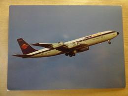 AIRLINE ISSUE / CARTE COMPAGNIE    HAMBURG INTERNATIONAL  B 707-320 - 1946-....: Moderne