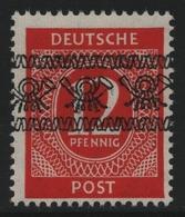 Bizone 1948 - Mi-Nr. 55 I ** - MNH - Band - BPP-Signatur - Bizone