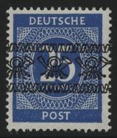 Bizone 1948 - Mi-Nr. 61 I ** - MNH - Band - BPP-Signatur - Bizone