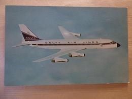 AIRLINE ISSUE / CARTE COMPAGNIE      DELTA AIRLINES  CONVAIR 880 - 1946-....: Modern Era