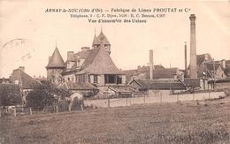 """¤¤    -    ARNAY-le-DUC   -    Fabrique De Limes """" PROUTAT Et Cie """" -  Vue D'ensemble Des Usines     -   ¤¤ - Arnay Le Duc"""