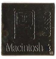 INFORMATIQUE - I6 - MACINTOSH CLASSIC - Verso : SM - Informatique