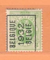 """COB 277 Préo  MNH  Position A """"BELGIQUE 1932 BELGIE""""  Cat 41,30 Euros - Vorfrankiert"""