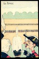 Cpa Illustrateur Bonet  La Revue -- Satirique  DEC19-42ter - Satirical