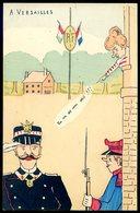 Cpa Illustrateur Bonet  A Versailles -- Satirique  DEC19-42ter - Satirical