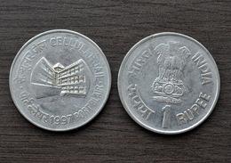 1997 Indien Indian 1 Rupee (Cellular Jail, Port Blair) Km98 Commemorative Münze Asia Coin - Inde