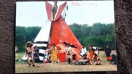 CPSM LES INDIENS LA DANSE DU BISON ORTF TELE ED YVON 8 - Indianer