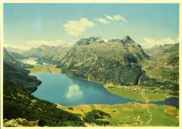SVIZZERA  SUISSE  GR  SILVAPLANA  Oberengadin  Surlej Mit Julierpass  Silsersee - GR Grisons