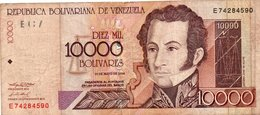VENEZUELA 10000 BOLIVARES  2004  P-85 - Venezuela