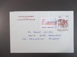 Luchtpostblad Naar Arlington USA - Stamped Stationery