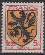 Blasons Des Provinces - FRANCE - Flandre - N° 602 * - 1944 - Unused Stamps