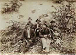 030320A - PHOTO ANCIENNE - MILITARIA Militaire Chasseur Alpin 7 Au Col - Personen
