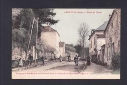 Crouttes (02) Route De Charly ( Animée G. Brindelet Ref 40770) - Other Municipalities