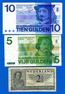 Pays  Bas  3  Billets - Paesi Bassi
