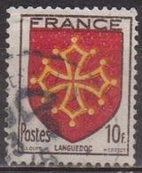 Blasons Des Provinces - FRANCE - Languedoc - N° 603 - 1944 - Used Stamps
